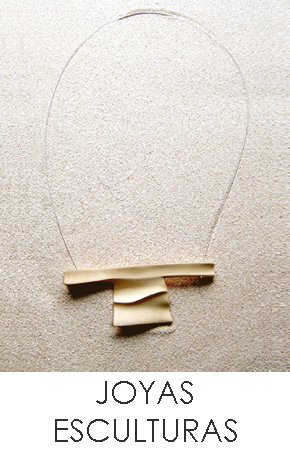 Contemporary jewellery sculpture